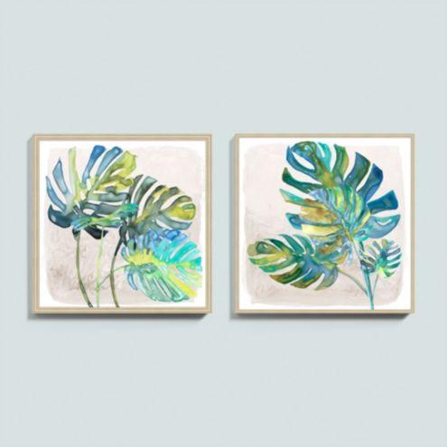 Tropical Breeze Art - Set of 2