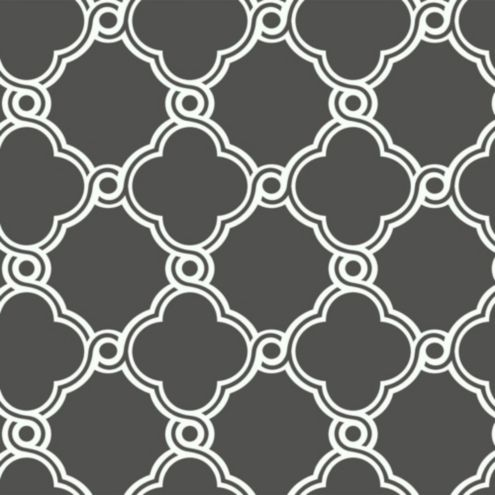 Fretwork Trellis Wallpaper Double Roll