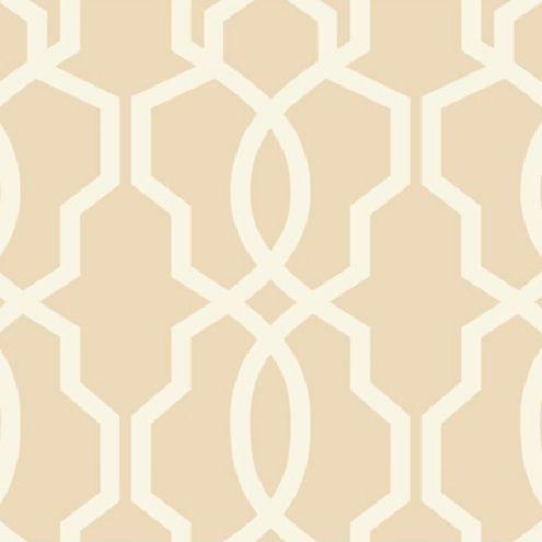 Imperial Trellis Wallpaper Beige/Cream Double Roll