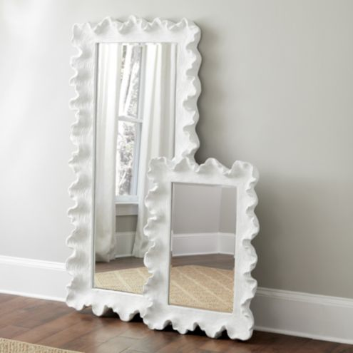 Atoll Rectangular Mirror with Clear Glass | Wall