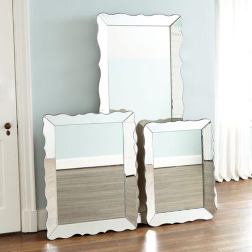 Scallop Frame Mirror