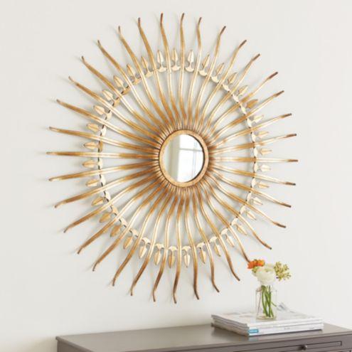 Alder Sunburst Mirror