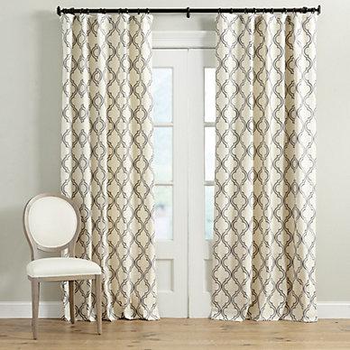 Drapery ballard designs for Window cotton design