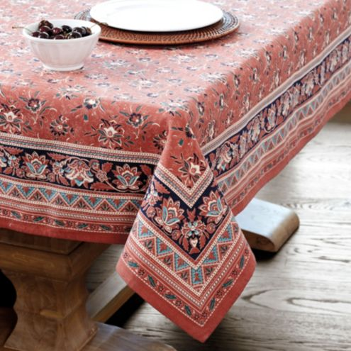 Ballard designs bunny williams kitchen hearth tablecloth
