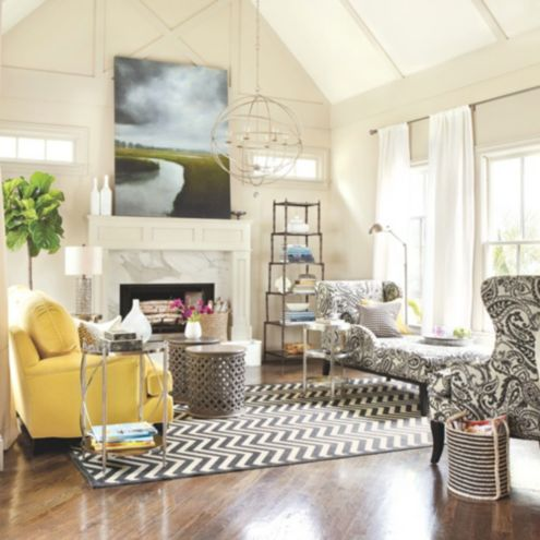Real Simple Living Room Design