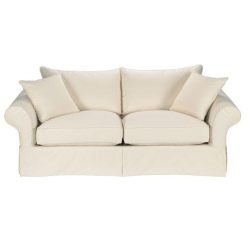 Vintage Vogue Sofa Slipcover - Ballard Essentials Fabrics | Ballard Designs