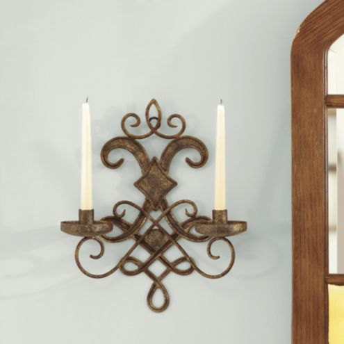 Mavelot Candle Sconce Taper Sized Candleholders