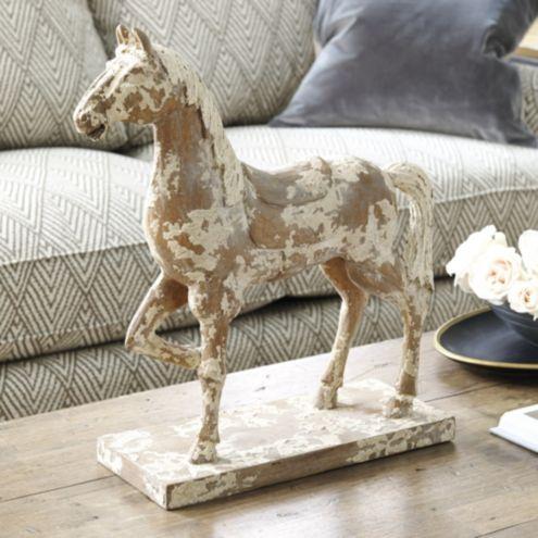 Hand Carved Horse Ballard Designs