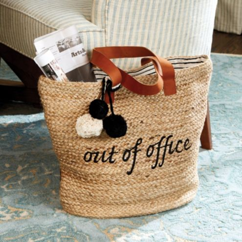 Out Of Office Tote Ballard Designs