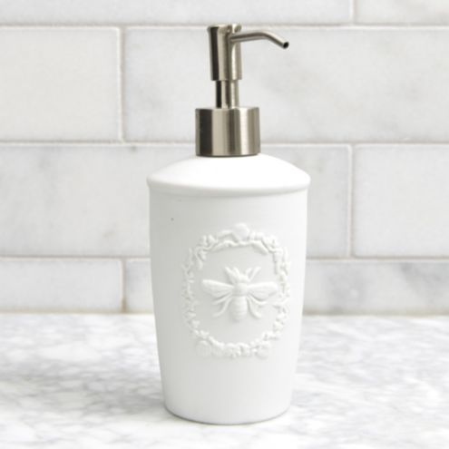 Bee Porcelain Soap Dispenser