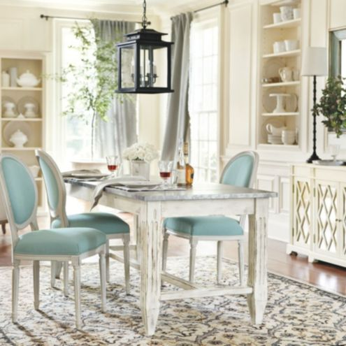 Louis dining room furniture collection ballard designs for Ballard designs dining room
