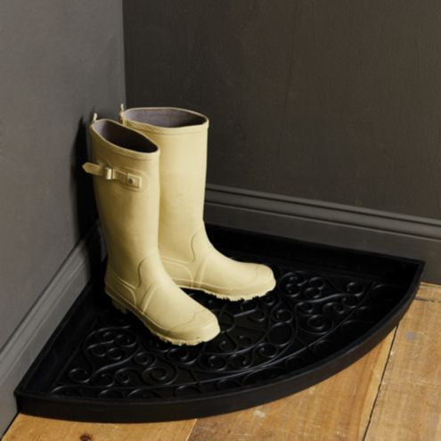 Corner Rubber Boot Tray
