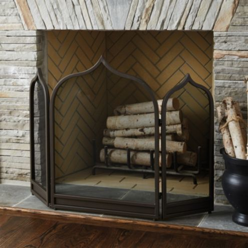 Moroccan Fireplace Screen