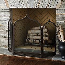 Rita Fireplace Screen Ballard Designs