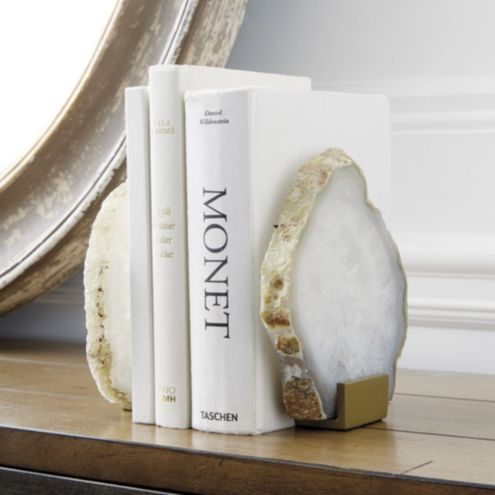 Agate Bookends - Set of 2
