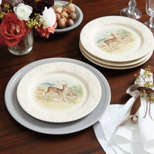 Into the Woods Accent Plates - Set of