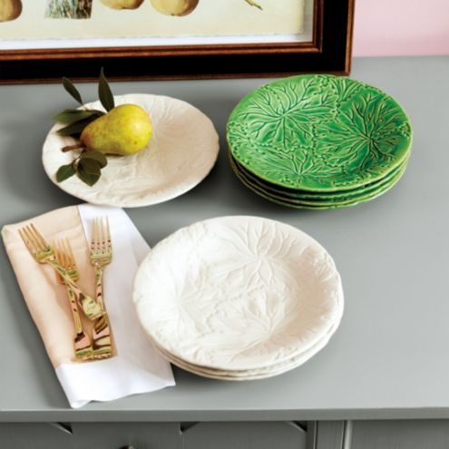 Bunny Williams Leaf Accent Plate - Set of