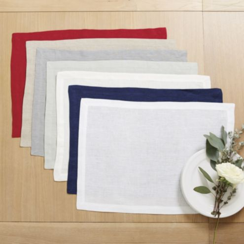 Marseille Linen Placemats - Set of 4
