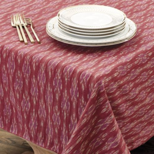 Bunny Williams Thai Ikat Tablecloth