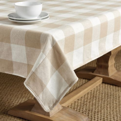 Buffalo Check Rectangular Tablecloth