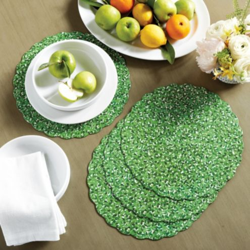 Boxwood Placemat - Set of 4