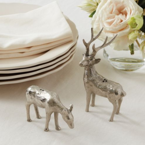 Doe and Buck Salt & Pepper Shakers