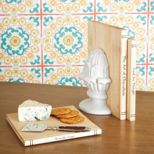 Culinary Books Wood Serving Boards - Set of