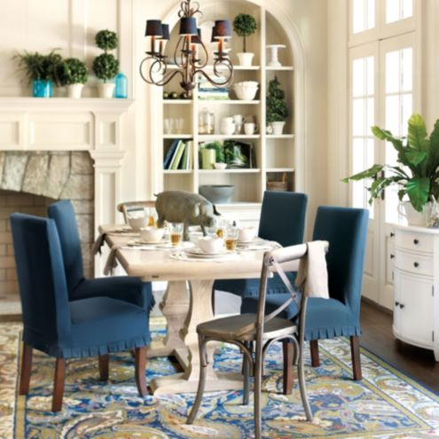 Talia dining room furniture collection ballard designs for Ballard designs dining room