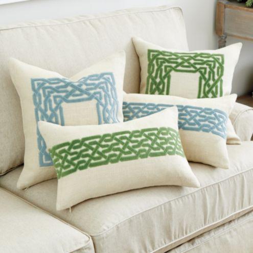 Trellis Pillow Ballard Designs