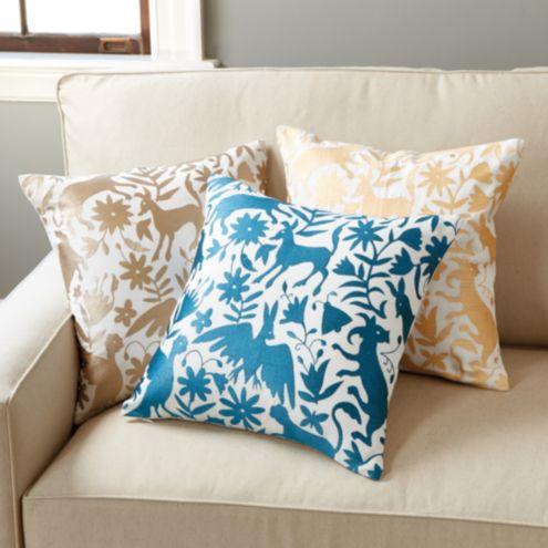 Otomi Embroidered Pillow Ballard Designs