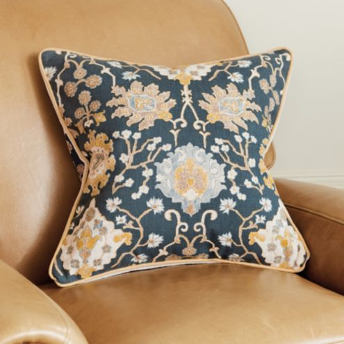 Chinoiserie Tapestry Pillow Cover