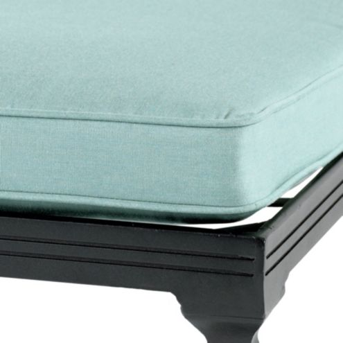 Outdoor Bench/Glider Cushion w/ Box Edge Welts |