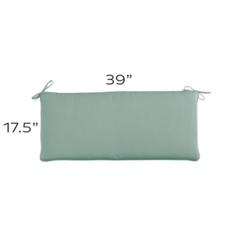 Bench Cushion with Knife Edge - U