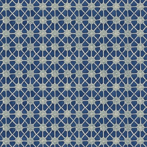 Arya Navy Fabric by the Yard