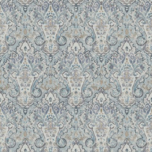Keswick Blue Fabric by the Yard
