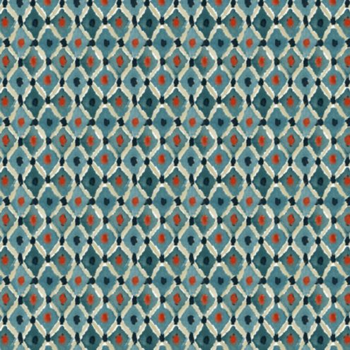 Lydia Indigo Fabric by the Yard