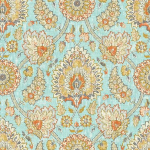Nicolette Sky Fabric by the Yard
