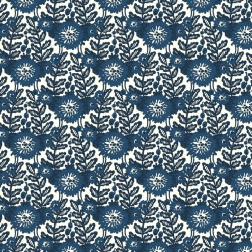 Marival Blue Fabric By The Yard Fabric By