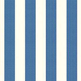 canopy stripe azurewhite sunbrella fabric by the yard