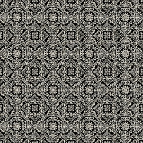 Florence Black Sunbrella® Fabric by the Yard