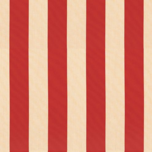 Canopy Stripe Red/Sand Sunbrella® Fabric by the Yard