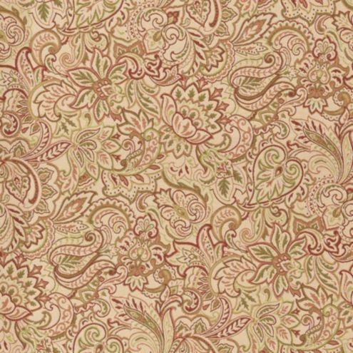 Tuscan Paisley Rust Sunbrella 174 Fabric By The Yard