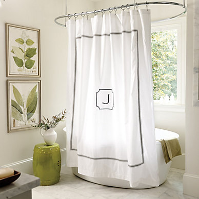 Bath Ballard Designs - Bathroom shower curtains with designs