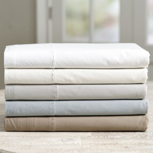 Casa Florentina Washed Percale Sheet Set
