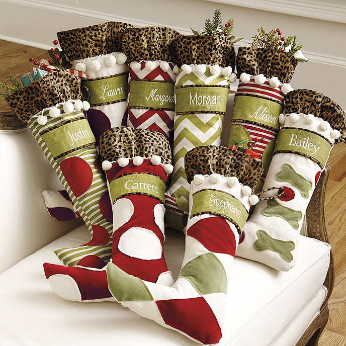 Personalized Christmas Stockings.Ballard Personalized Christmas Stockings Ballard Designs