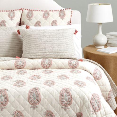 Nora Block Print Bedding | Ballard Designs