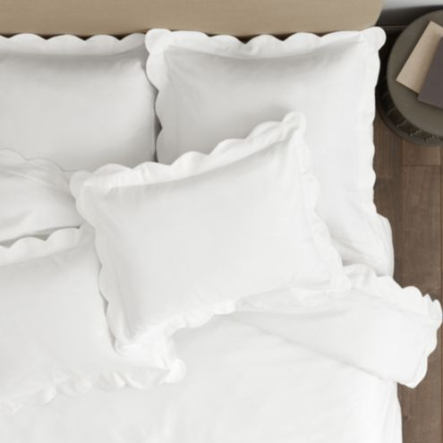 Emma Scalloped Duvet Cover