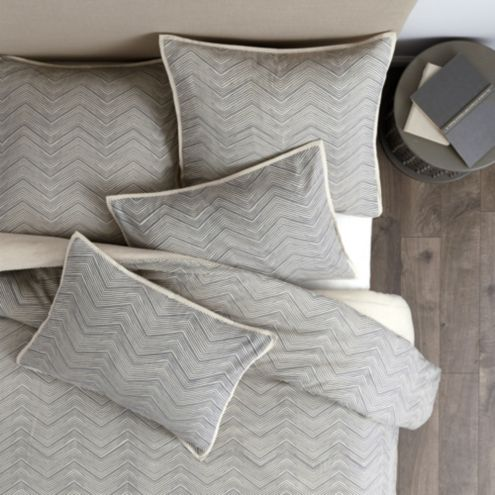 Monoghan Pencil Herringbone Duvet Cover
