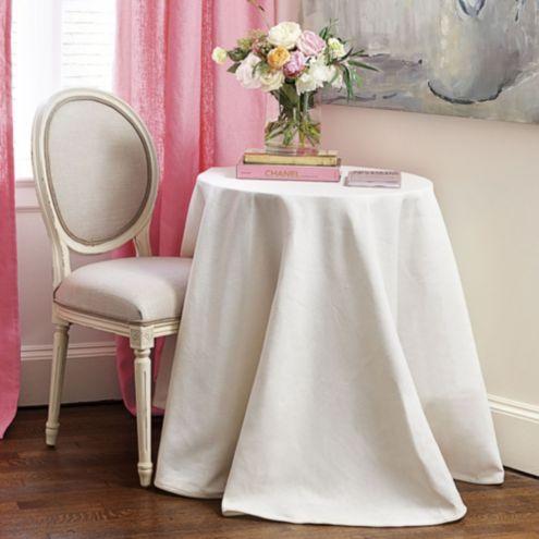 90 Inch Round Table Cloth Ballard Designs