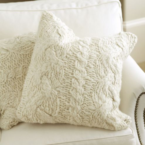 Wiltern Knit Pillow Ballard Designs
